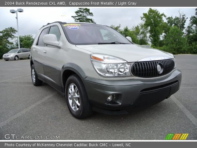 2004 Buick Rendezvous CXL AWD in Cappuccino Frost Metallic