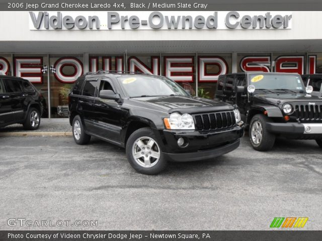 2006 Jeep Grand Cherokee Laredo 4x4 in Black