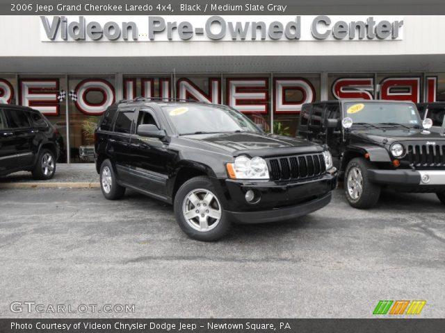 2006 Jeep Grand Cherokee Laredo 4x4 in Black