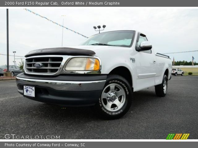 2000 Ford F150 Regular Cab in Oxford White