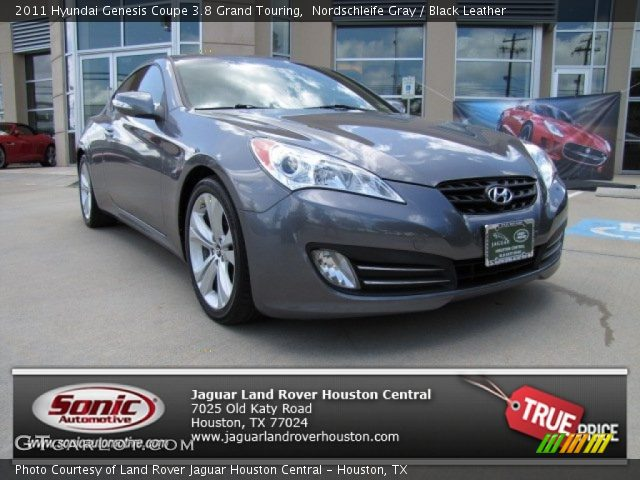 nordschleife gray 2011 hyundai genesis coupe 3 8 grand touring black leather interior. Black Bedroom Furniture Sets. Home Design Ideas