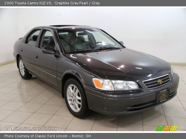 graphite gray pearl 2000 toyota camry xle v6 gray interior vehicle archive. Black Bedroom Furniture Sets. Home Design Ideas