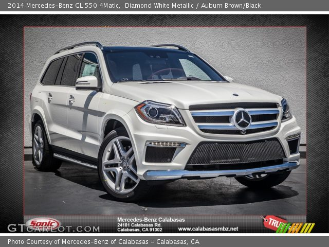 2014 Mercedes-Benz GL 550 4Matic in Diamond White Metallic