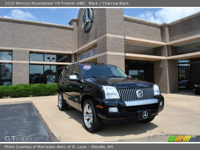 2010 Mercury Mountaineer V8 Premier AWD in Black