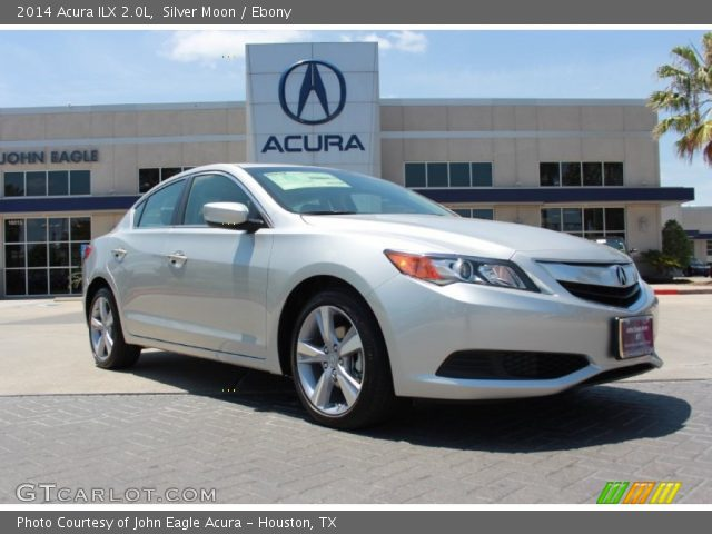 silver moon 2014 acura ilx 2 0l ebony interior vehicle archive 84477832. Black Bedroom Furniture Sets. Home Design Ideas