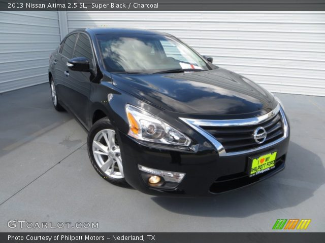 super black 2013 nissan altima 2 5 sl charcoal interior vehicle archive. Black Bedroom Furniture Sets. Home Design Ideas