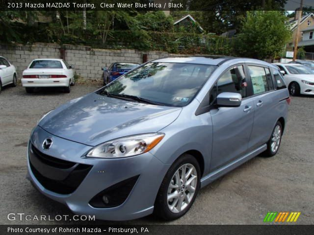 2013 Mazda MAZDA5 Touring in Clear Water Blue Mica