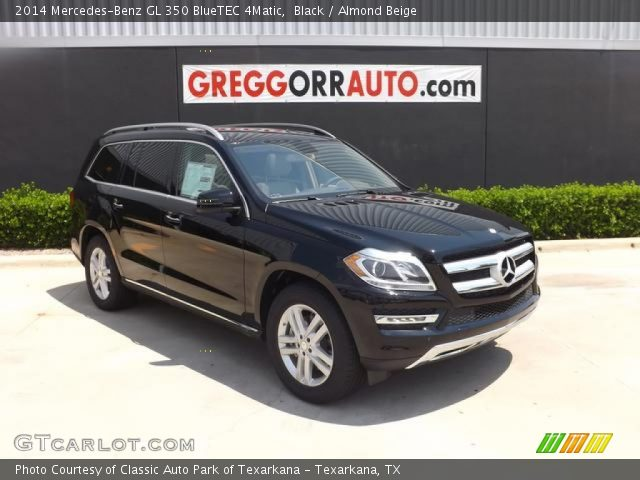 Black 2014 mercedes benz gl 350 bluetec 4matic almond for 2014 mercedes benz gl350 bluetec 4matic