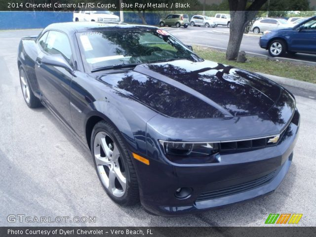 blue ray metallic 2014 chevrolet camaro lt rs coupe. Black Bedroom Furniture Sets. Home Design Ideas