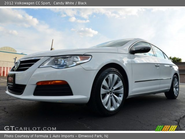 candy white 2012 volkswagen cc sport black interior vehicle archive 84669323. Black Bedroom Furniture Sets. Home Design Ideas