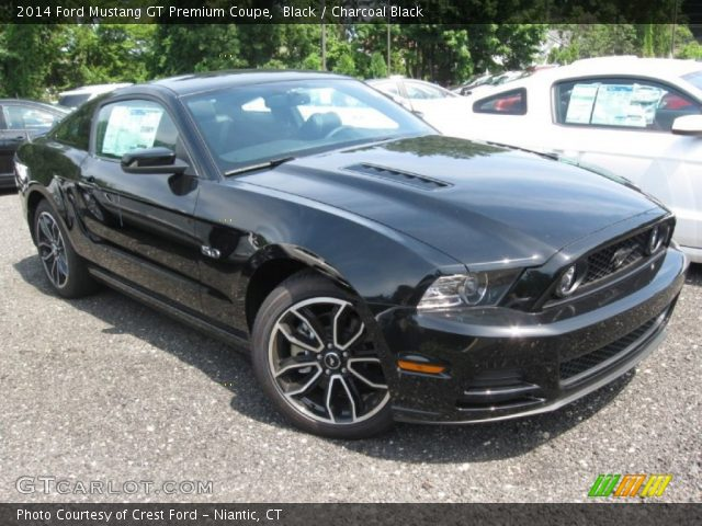 2014 ford mustang gt premium coupe in black - 2014 Ford Mustang Gt Black