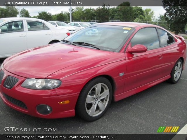 2004 Pontiac GTO Coupe in Torrid Red