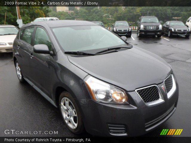 2009 Pontiac Vibe 2.4 in Carbon Gray Metallic