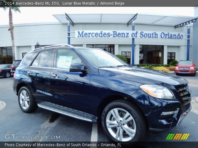 2014 Mercedes-Benz ML 350 in Lunar Blue Metallic