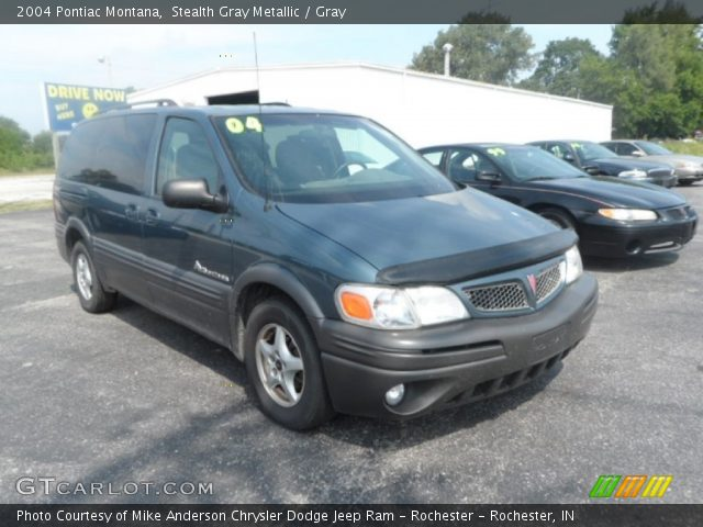 2004 Pontiac Montana  in Stealth Gray Metallic