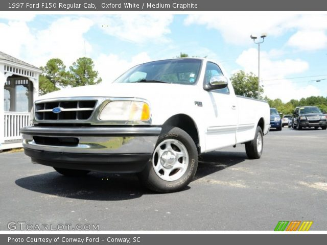 1997 Ford F150 Regular Cab in Oxford White
