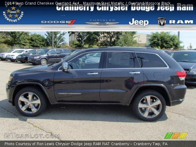 2014 Jeep Grand Cherokee Overland 4x4 in Maximum Steel Metallic