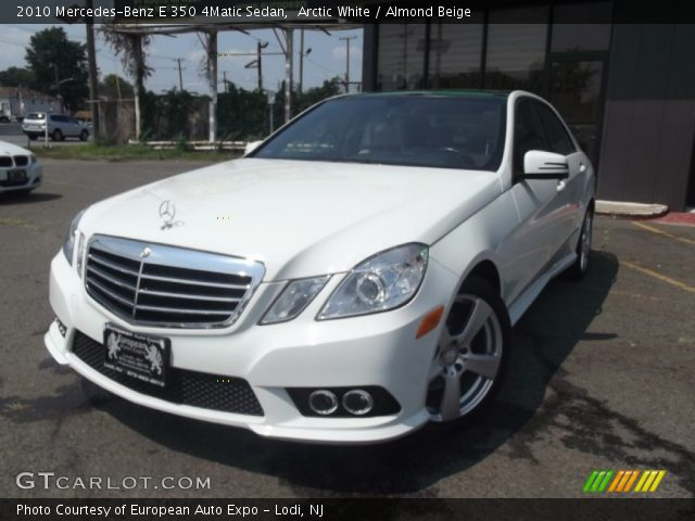 2010 Mercedes-Benz E 350 4Matic Sedan in Arctic White