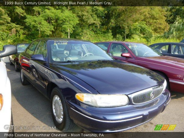 midnight blue pearl 1999 buick century limited medium. Black Bedroom Furniture Sets. Home Design Ideas