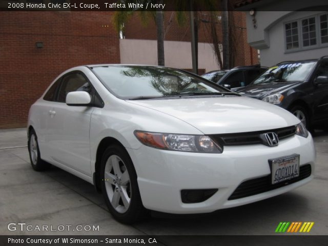 taffeta white 2008 honda civic ex l coupe ivory interior vehicle archive. Black Bedroom Furniture Sets. Home Design Ideas