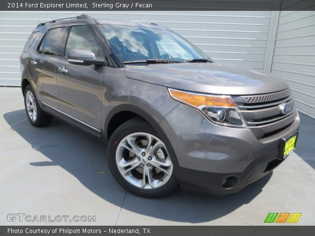 2014 Ford Explorer Limited in Sterling Gray