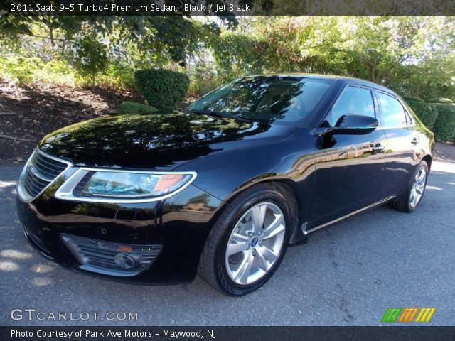 black 2011 saab 9 5 turbo4 premium sedan jet black interior vehicle archive. Black Bedroom Furniture Sets. Home Design Ideas