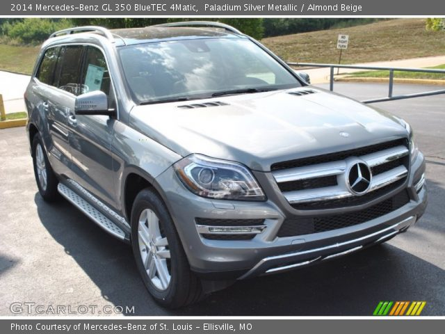 Paladium silver metallic 2014 mercedes benz gl 350 for 2014 mercedes benz gl350 bluetec 4matic