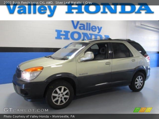 2003 Buick Rendezvous CXL AWD in Silver Leaf Metallic