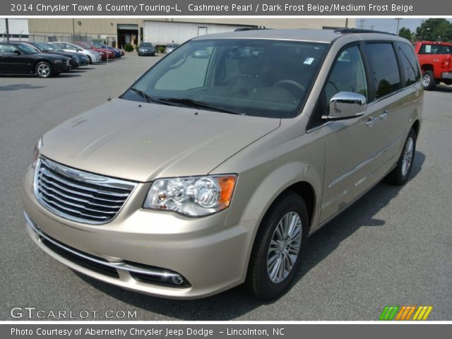 cashmere pearl 2014 chrysler town country touring l dark frost beige medium frost beige. Black Bedroom Furniture Sets. Home Design Ideas