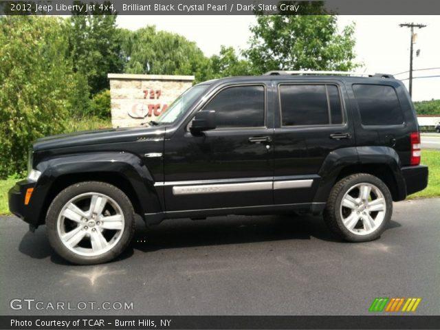 2012 Jeep Liberty Jet For Sale Brilliant Black Crystal Pearl - 2012 Jeep Liberty Jet 4x4 - Dark Slate ...