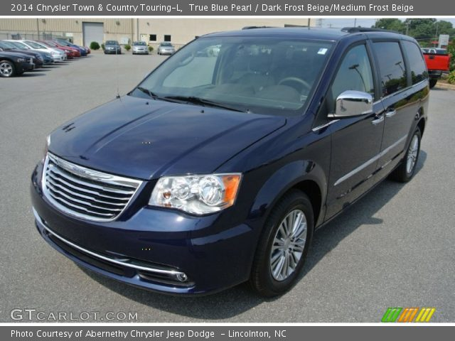 true blue pearl 2014 chrysler town country touring l. Black Bedroom Furniture Sets. Home Design Ideas