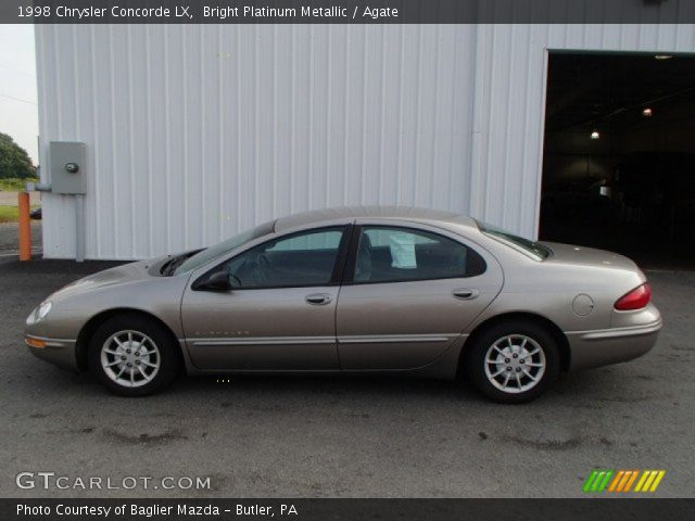 bright platinum metallic 1998 chrysler concorde lx agate interior. Cars Review. Best American Auto & Cars Review