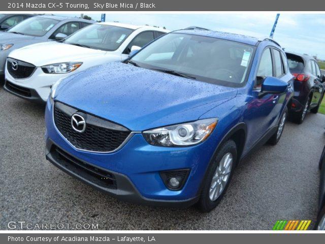 2014 Mazda CX-5 Touring in Sky Blue Mica