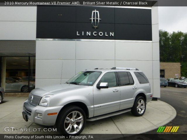 2010 Mercury Mountaineer V8 Premier AWD in Brilliant Silver Metallic