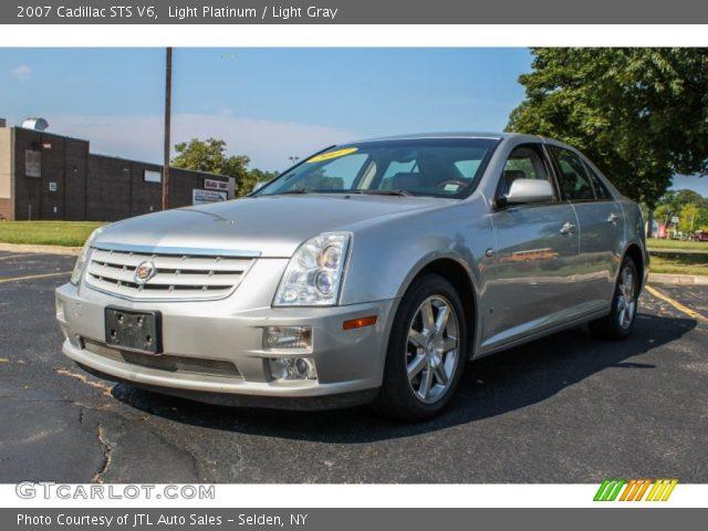 2007 Cadillac STS V6 in Light Platinum
