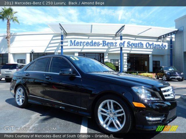 2013 Mercedes-Benz C 250 Luxury in Black