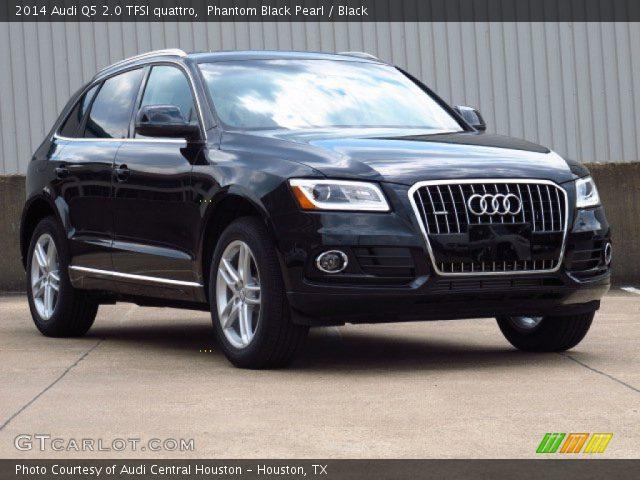 Audi q5 black 2014