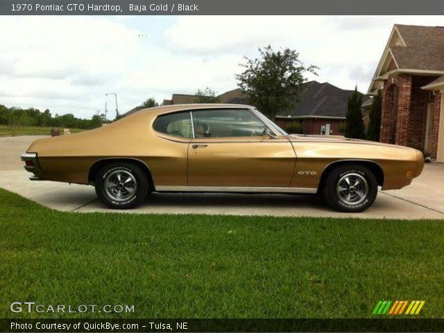 1970 Pontiac GTO Hardtop in Baja Gold