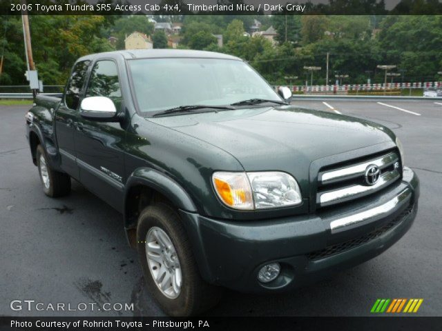 timberland mica 2006 toyota tundra sr5 access cab 4x4 dark gray interior. Black Bedroom Furniture Sets. Home Design Ideas