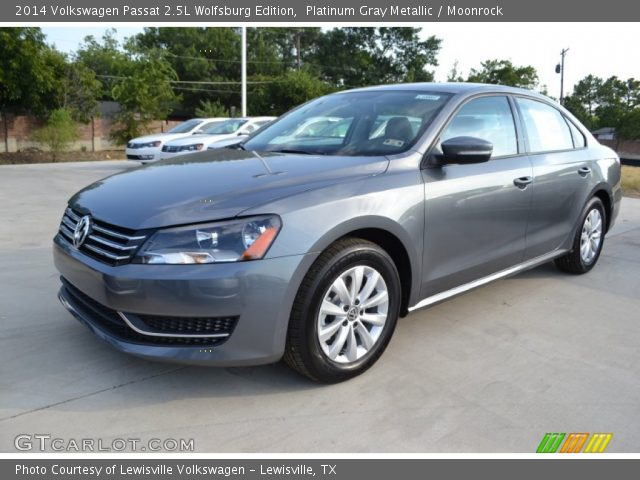 platinum gray metallic 2014 volkswagen passat 2 5l. Black Bedroom Furniture Sets. Home Design Ideas