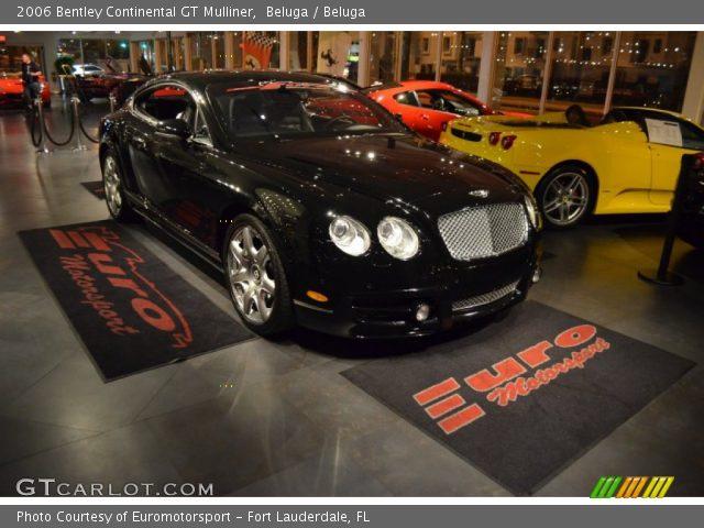 2006 Bentley Continental GT Mulliner in Beluga