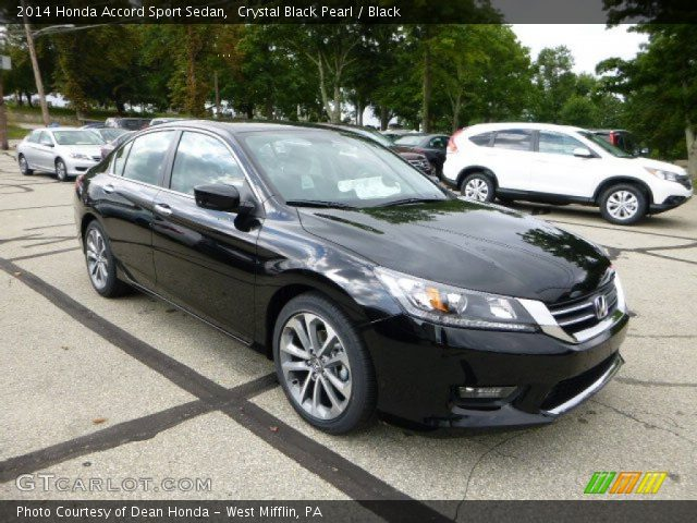 Crystal Black Pearl - 2014 Honda Accord Sport Sedan ...