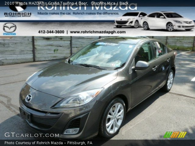 graphite mica 2010 mazda mazda3 s grand touring 4 door. Black Bedroom Furniture Sets. Home Design Ideas