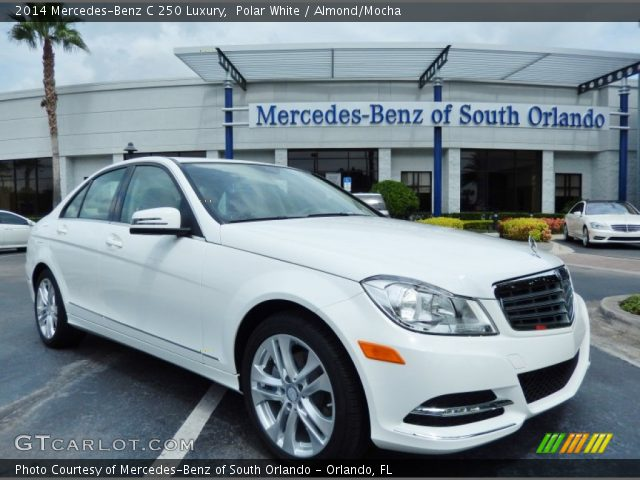 2014 Mercedes-Benz C 250 Luxury in Polar White