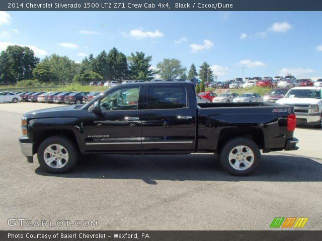 black 2014 chevrolet silverado 1500 ltz z71 crew cab 4x4 cocoa dune interior. Black Bedroom Furniture Sets. Home Design Ideas