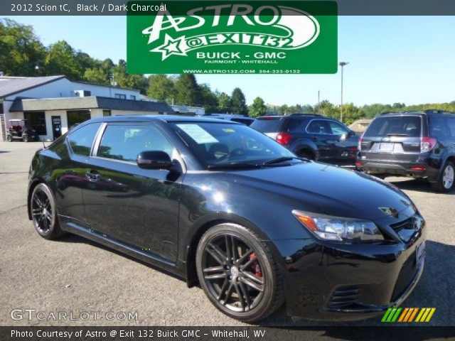 2012 Scion tC  in Black