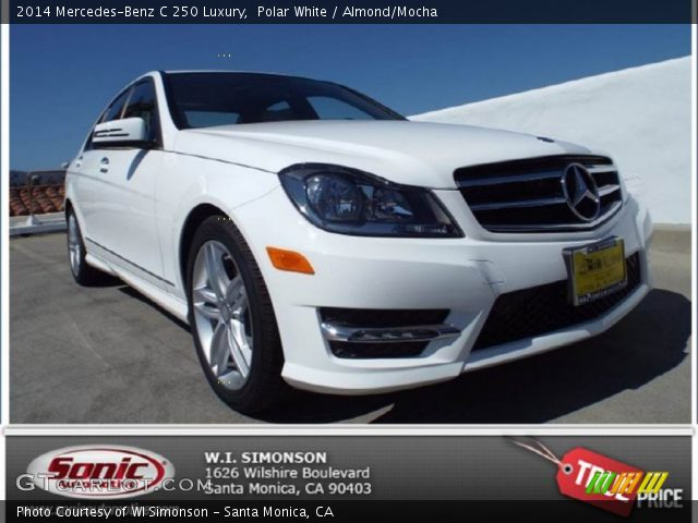 2014 Mercedes-Benz C 250 Luxury in Diamond Silver Metallic