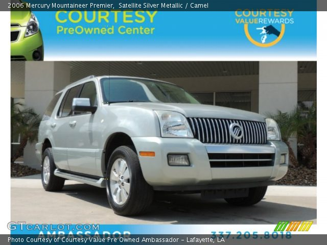2006 Mercury Mountaineer Premier in Satellite Silver Metallic