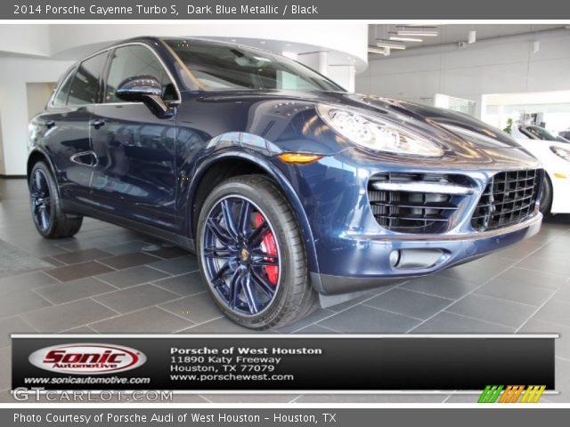 2014 porsche cayenne turbo s in dark blue metallic - 2014 Porsche Cayenne Turbo S Interior