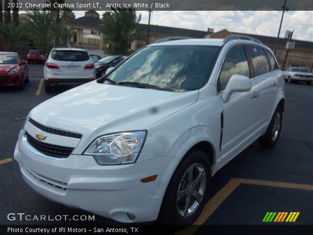 2012 Chevrolet Captiva Sport LT in Arctic Ice White